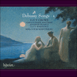 Debussy: Songs, Vol. 4