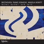 Beethoven: Piano Sonatas Opp 2/2, 10/1, 78 & 110