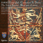 Parry: I was glad & other choral works