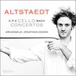 Bach (CPE): Cello Concertos