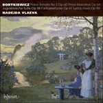 Bortkiewicz: Piano Sonata No 2 & other works