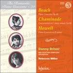 Beach, Chaminade & Howell: Piano Concertos