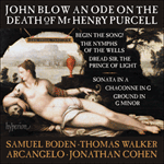 Blow: An Ode on the Death of Mr Henry Purcell & other works