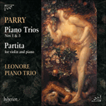 Parry: Piano Trios Nos 1 & 3