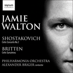 Shostakovich: Cello Concerto No. 2, Britten: Cello Symphony