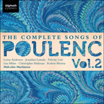 Poulenc - Complete Songs, Volume 2