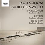 Shostakovich, Britten & Prokofiev - Cello Sonatas