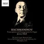 Rachmaninov: Transcriptions and arrangements for organ