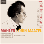 Mahler: Symphonies Nos 1-3