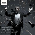 Glinka, Milhaud & Prokofiev: Clarinet Sonatas