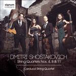 Shostakovich: String Quartets Nos 4, 8 & 11