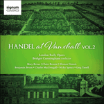 Handel: Handel at Vauxhall, Vol. 2