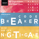 McCarthy: Codebreaker; Todd: Ode to a Nightingale