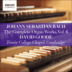 Bach: The Complete Organ Works, Vol. 6
