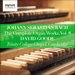 Bach: The Complete Organ Works, Vol. 8