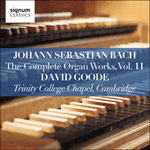 Bach: The Complete Organ Works, Vol. 11