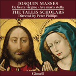Josquin - Missa De beata virgine and Missa Ave maris stella