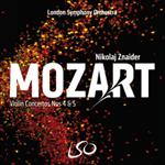 Mozart: Violin Concertos Nos 4 & 5