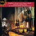 'English Choral and Organ Music' (CDH55009)