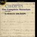 Cover of 'Chopin: The Complete Mazurkas, Vol. 1' (CDH55391)