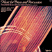 Cover of 'Music for Brass & Percussion' (CDA66189)