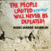 Cover of 'Rzewski: The People United Will Never Be Defeated!' (CDA67077)