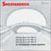 Cover of 'Shostakovich: String Quartets Nos 11, 13 & 15' (CDA67157)