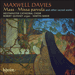 Cover of 'Maxwell Davies: Mass & other choral works' (CDA67454)