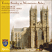Cover of 'Trinity Sunday at Westminster Abbey' (CDA67557)
