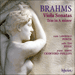 Cover of 'Brahms: Viola Sonatas' (CDA67584)