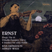 Cover of 'Ernst: Violin Music' (CDA67619)