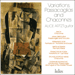 Cover of 'Variations, Passacaglias & Chaconnes' (CDH88026)