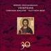 Cover of 'Rachmaninov: Vespers' (CDA30016)