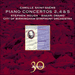 Cover of 'Saint-Saëns: Piano Concertos Nos 2, 4 & 5' (CDA30018)