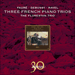 Cover of 'Fauré, Debussy & Ravel: Piano Trios' (CDA30029)