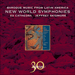 Cover of 'New World Symphonies – Baroque Music from Latin America' (CDA30030)