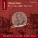 'Monteverdi: The Sacred Music, Vol. 1' (SACDA67428)