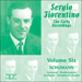 Cover of 'Sergio Fiorentino – The Early Recordings, Vol. 6 – Schumann' (APR5586)