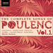 'Poulenc: The Complete Songs, Vol. 1' (SIGCD247)