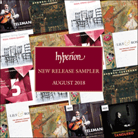 HYP201808 - Hyperion monthly sampler - August 2018