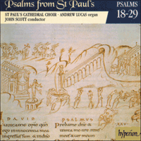 CDP11002 - Psalms from St Paul's, Vol. 2 Nos 18-29
