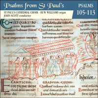 CDP11009 - Psalms from St Paul's, Vol. 9 Nos 105-113