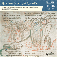 CDP11010 - Psalms from St Paul's, Vol. 10 114-8,120-35