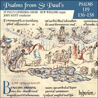 Psalms from St Paul's, Vol  11 119, 136-138 - CDP11011