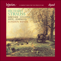 CDD22015 - Strauss (R): Complete Music for Winds