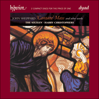 CDD22021 - Sheppard: Cantate Mass & other works