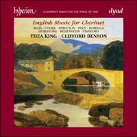 CDD22027 - English Music for Clarinet
