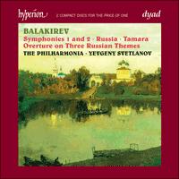 Balakirev: Symphonies & Symphonic Poems - CDD22030 - Mili