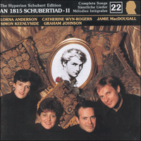 CDJ33022 - Schubert: The Hyperion Schubert Edition, Vol. 22
