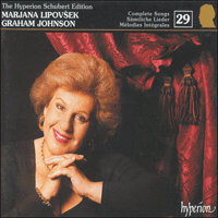 CDJ33029 - Schubert: The Hyperion Schubert Edition, Vol. 29 - Marjana Lipovšek